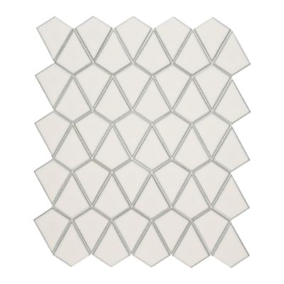 Savoy arrowhead mosaic in ricepaper