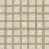 novelty mosaic in botticino, jerusalem gold and noce