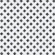 panera mosaic in standard thassos and nero