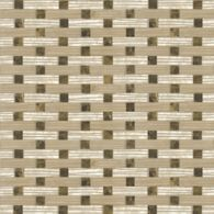screen mosaic in lagos gold, emperador dark and botticino