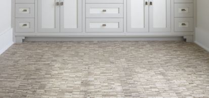 athens mosaic in honed finish (shown in: Southern Living; photographer: Rich Maciejewski)