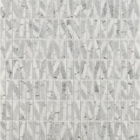 bianco mosaic in honed finish