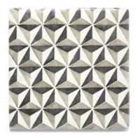 "6"" x 6"" Hoshi decorative field in charcoal and oxford"