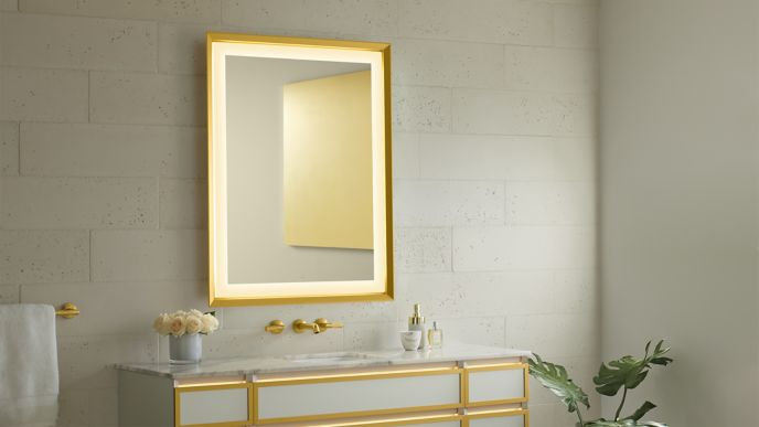 Sculpt Lighted Mirrors