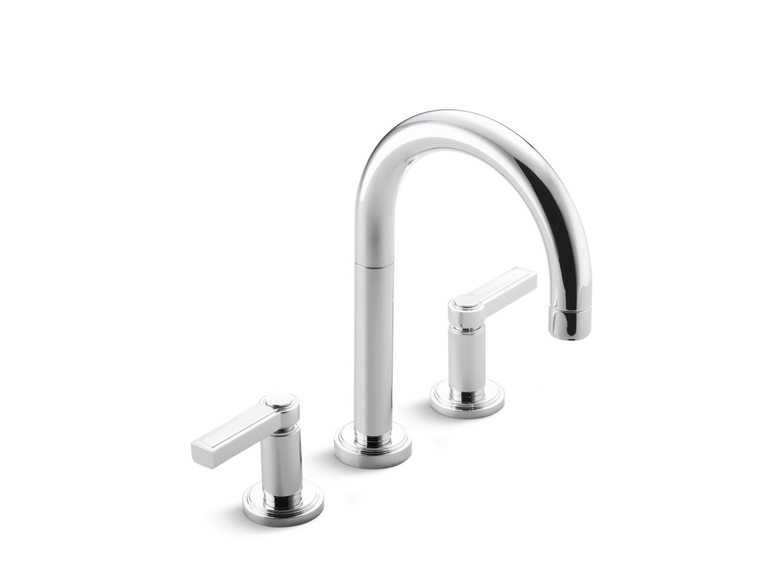 Vir Stil Minimal By Laura Kirar Sink Faucet Lever Handles P24131 Lv Faucets Kallista Kallista