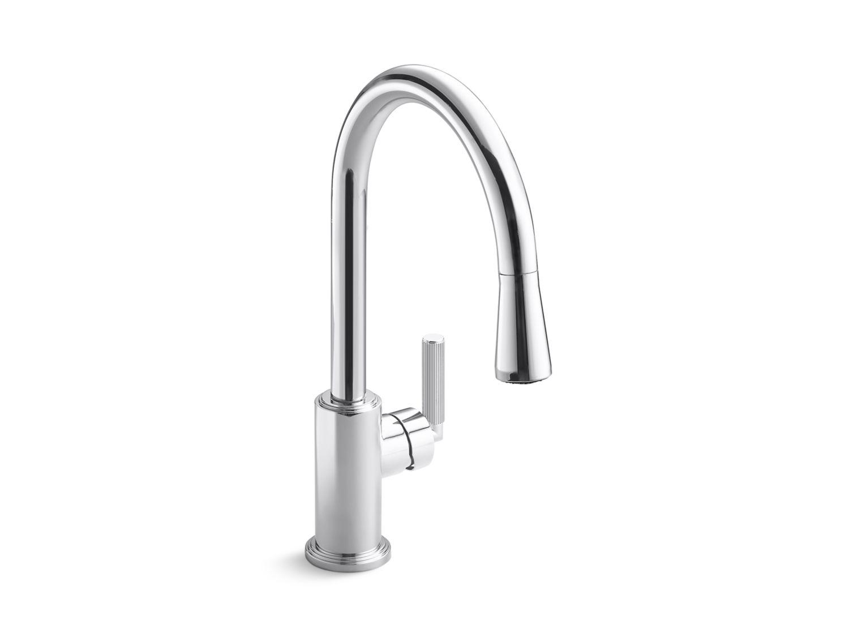 Vir Stil By Laura Kirar Pull Down Kitchen Faucet P23065 00 Kitchen Faucets Kallista Kallista