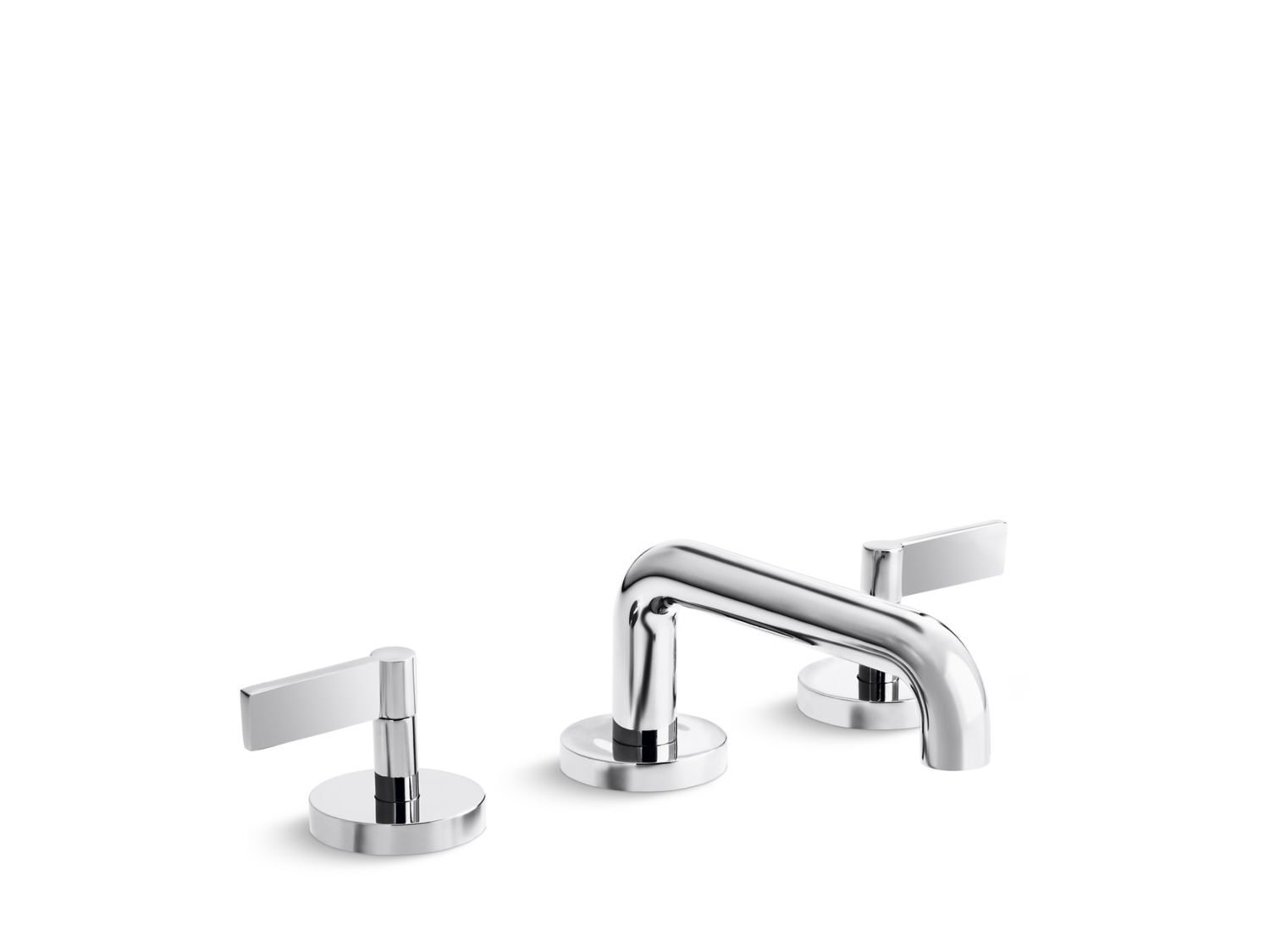 One Sink Faucet, Low-Spout, Lever Handles | P24491-LV | Faucets ...