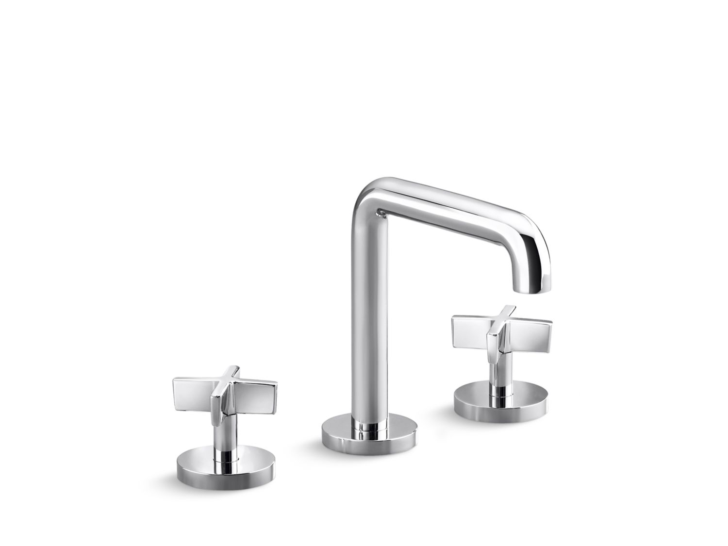 One Sink Faucet, Tall-Spout, Cross Handles | P24492-CR | Faucets ...