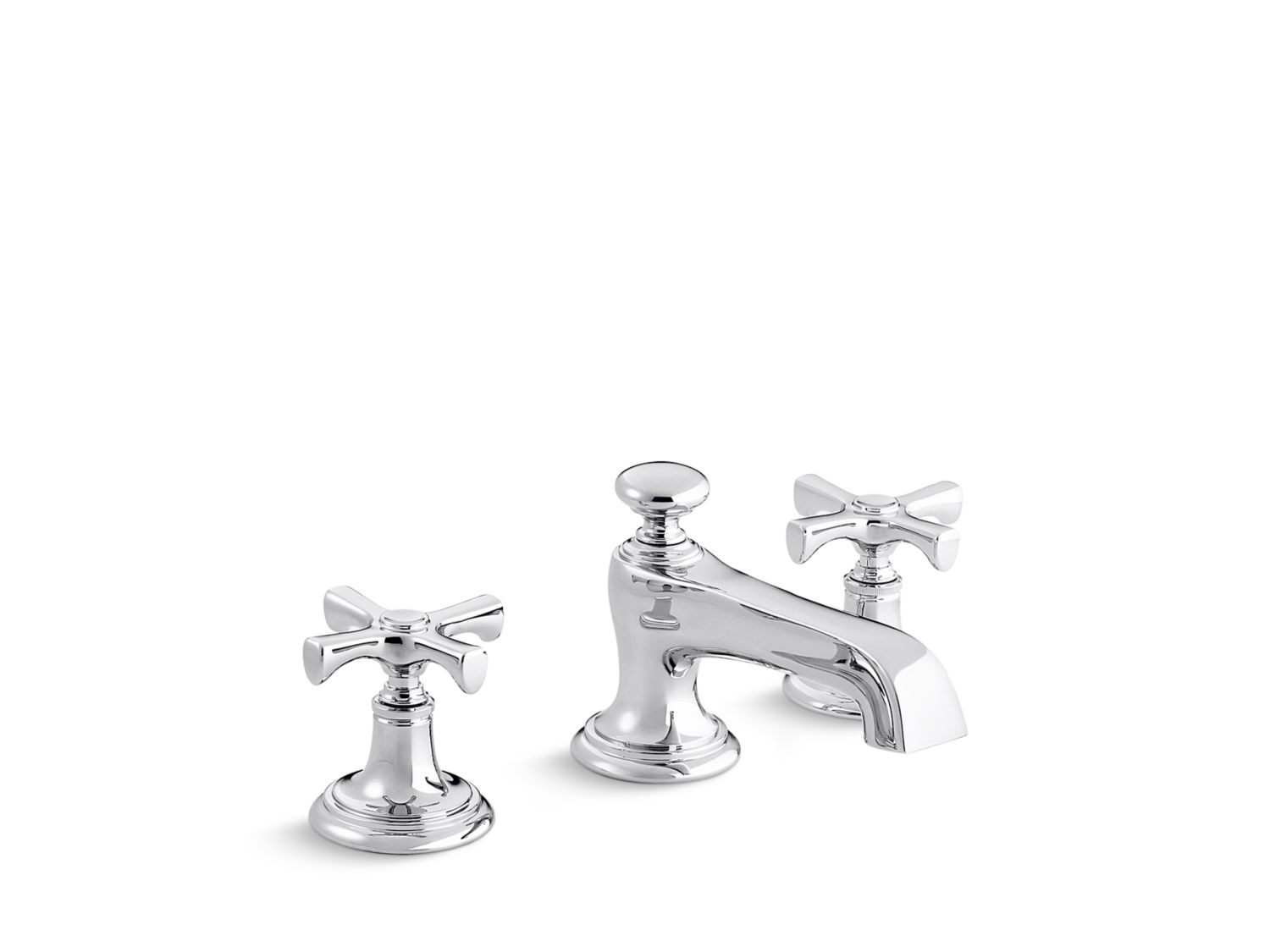 Bellis Traditional Sink Faucet, Cross Handles | P24600-CR ...