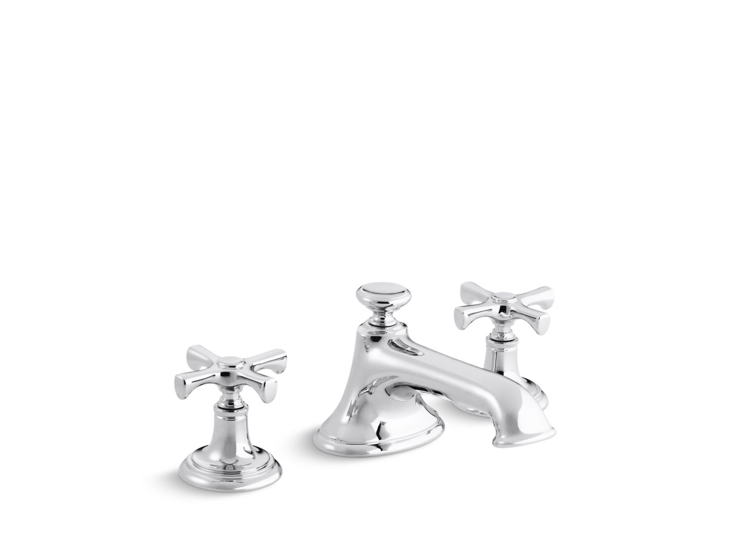 Bellis Noble Sink Faucet, Cross Handles | P24601-CR | Faucets ...
