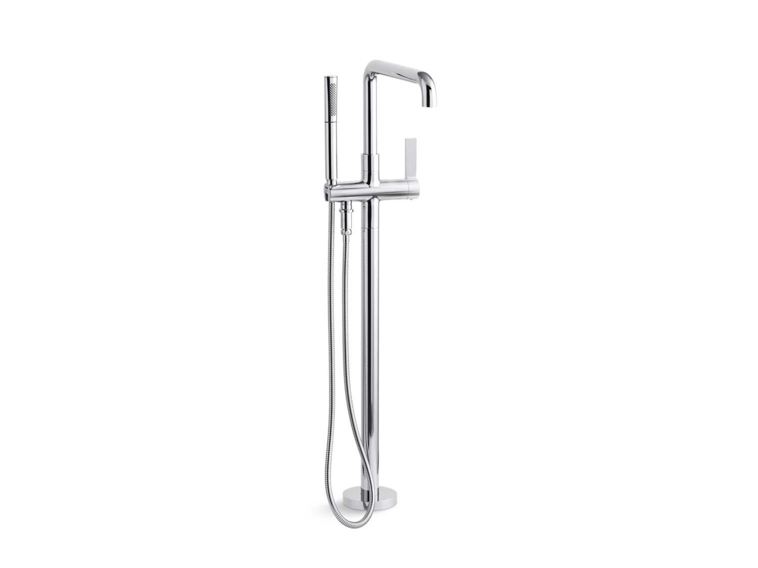 One Floor-mount Bath Filler, Less Handshower | P24408-00 | Bath ...