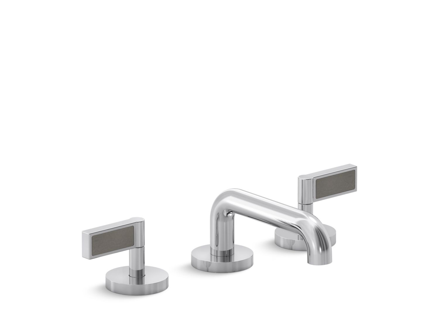 One Decorative Sink Faucet, Grigio Limestone Handles | P24491-GL ...