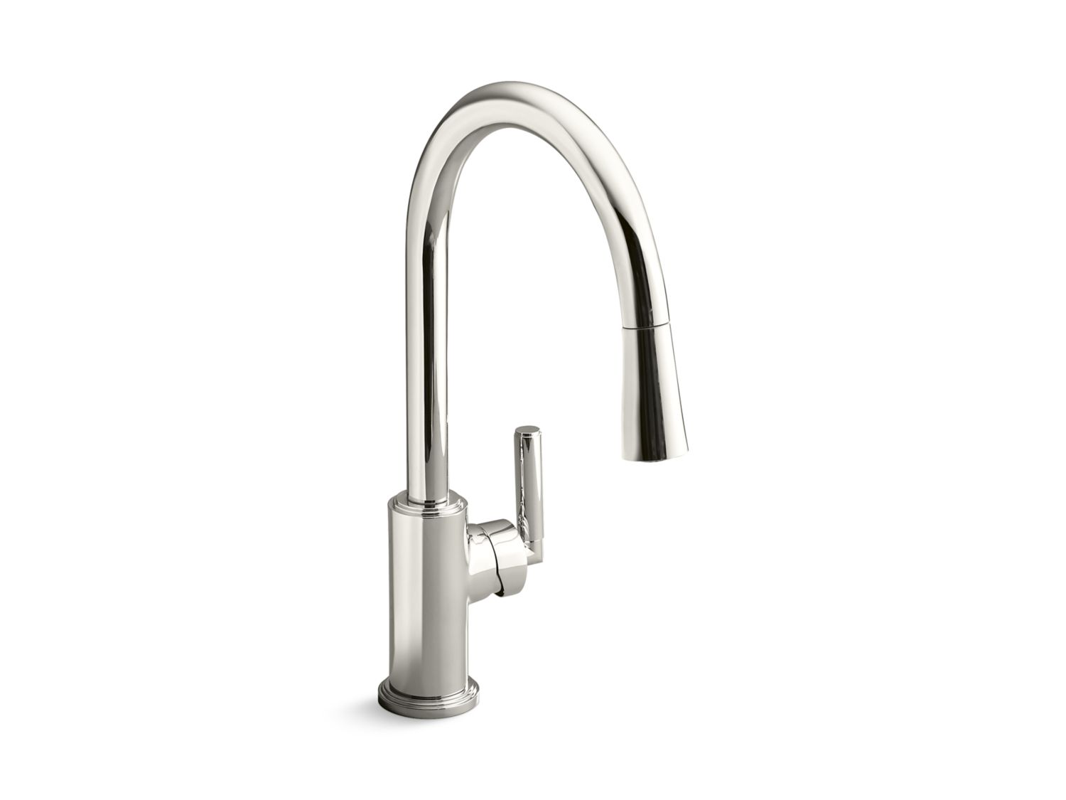 kallista kitchen faucets vir stil minimal by kirar pull kitchen faucet 12812
