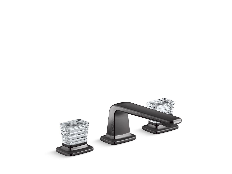 Per Se Decorative Sink Faucet Saint Louis Clear Crystal