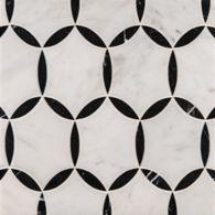 Benton Circles carrara/Nero Marquina