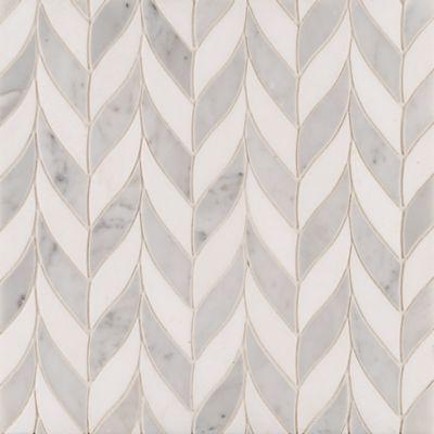 Benton Braid Carrara/White Thassos