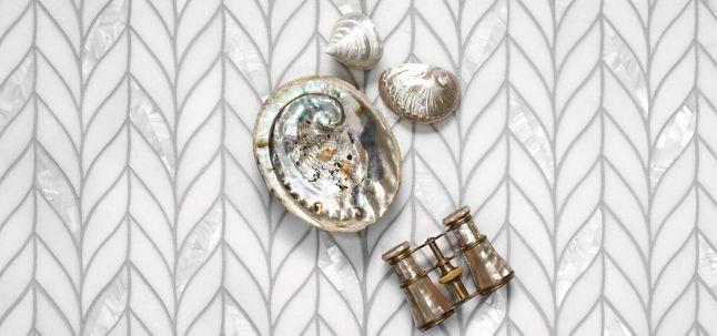 Benton Braid White Thassos/ Shell