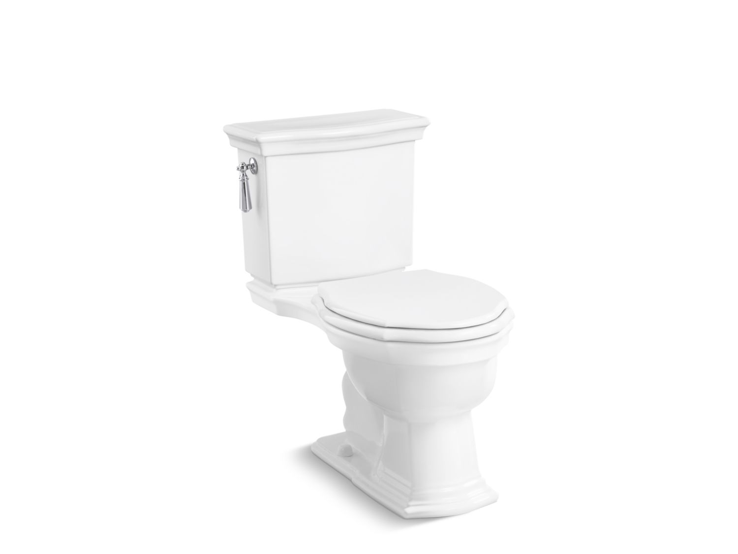 Hampstead Two-Piece High-Performance Toilet, Less Seat | P70370-00 ...