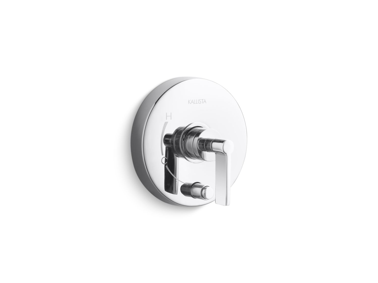 One Pressure Balance Trim with Diverter, Lever Handle | P24416-LV ...