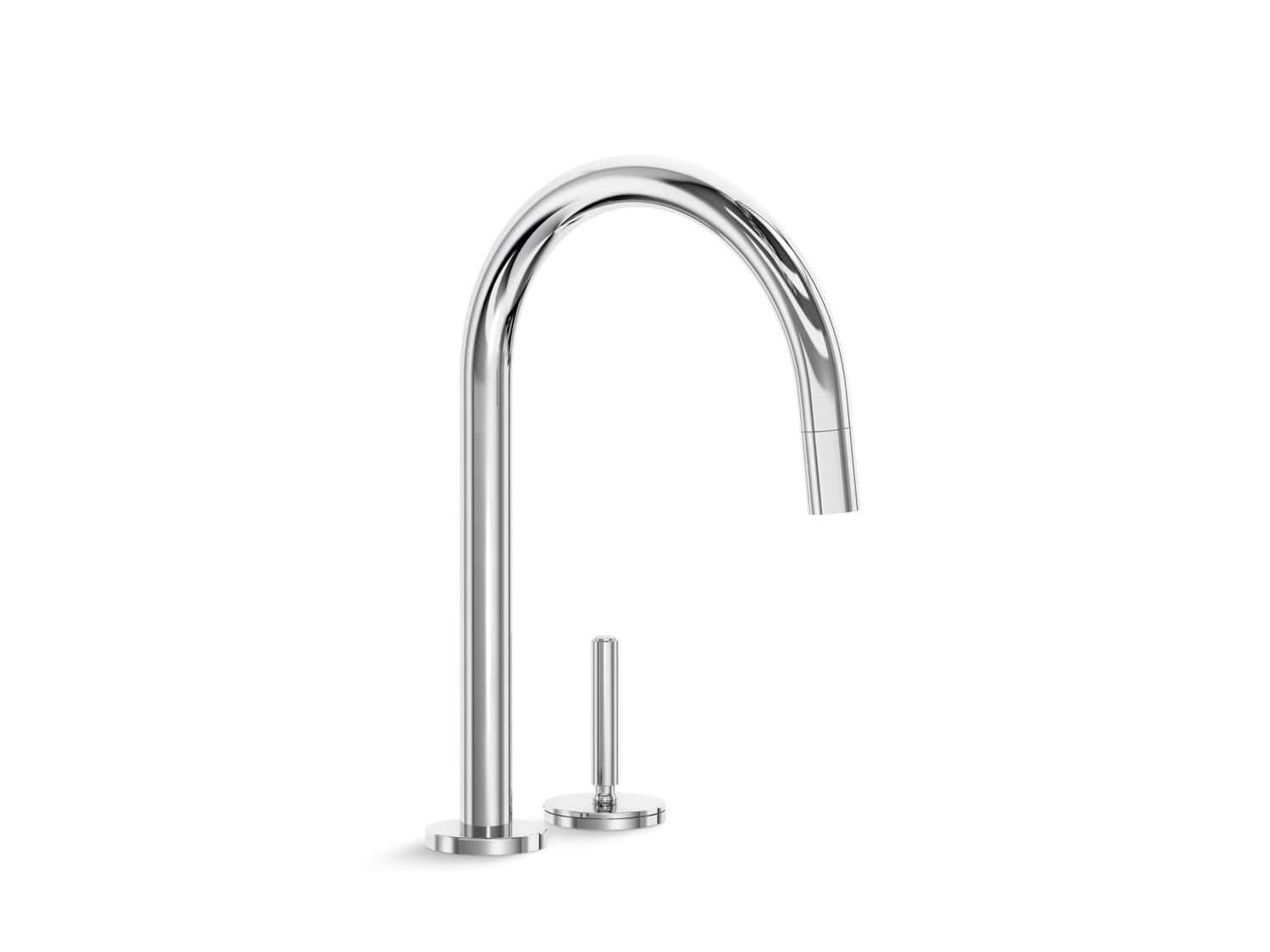 One Pull Down Kitchen Faucet P25200 00 Kitchen Faucets Kallista