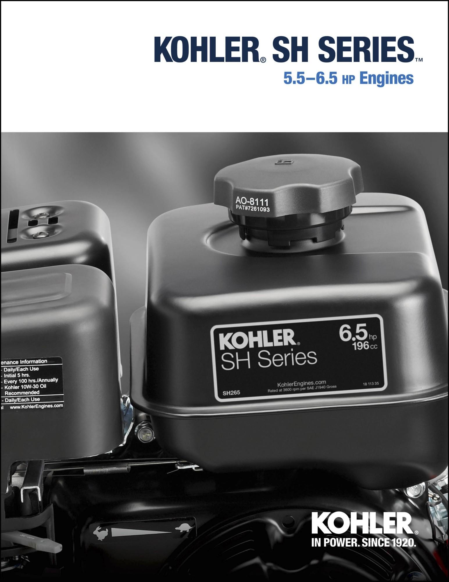 Literature and Brochures | Kohler Engines