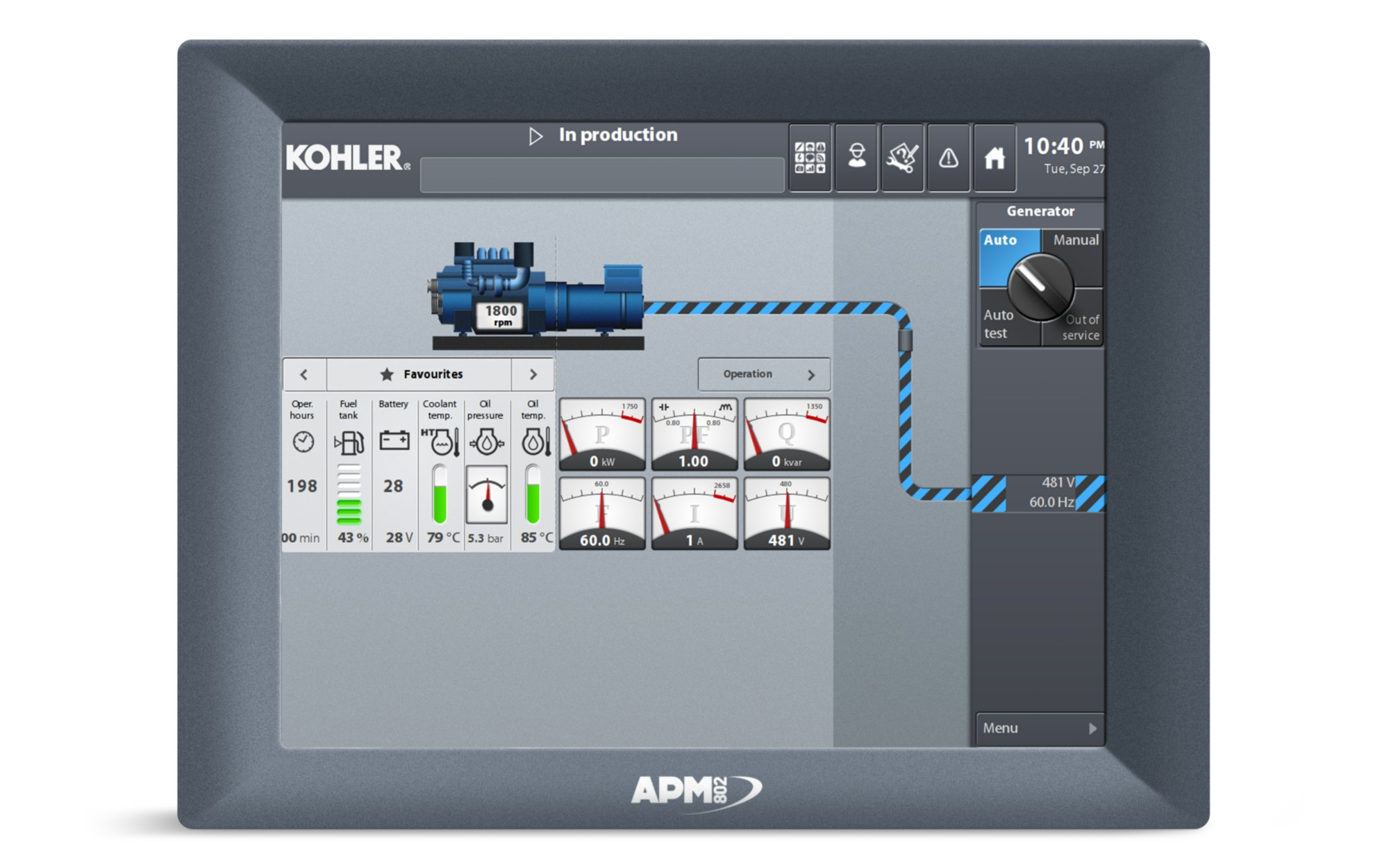 Apm802 Controls Kohler Sdmo Manual Transfer Switch Wiring Diagram
