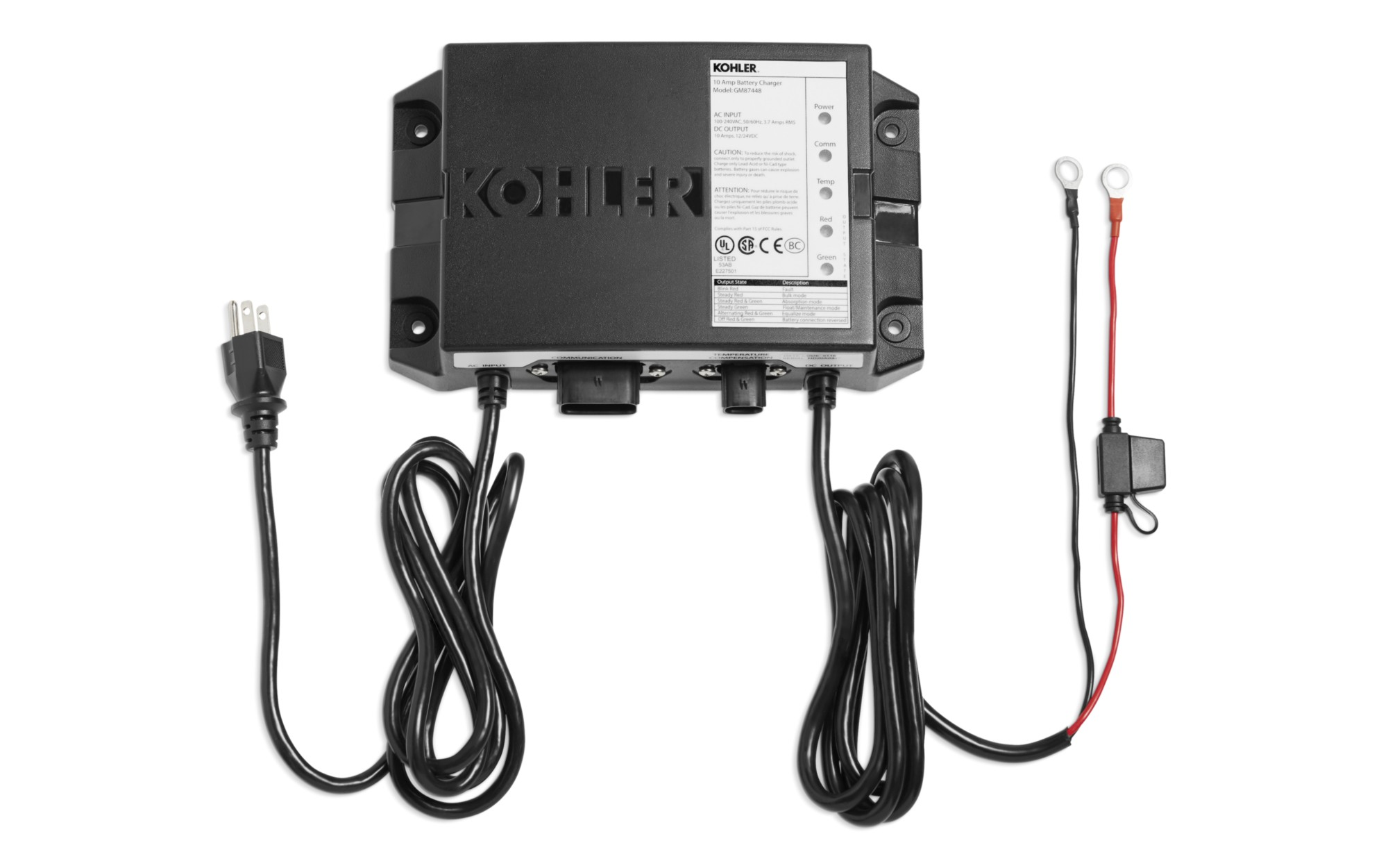 Battery Chargers | Accessories | KOHLER