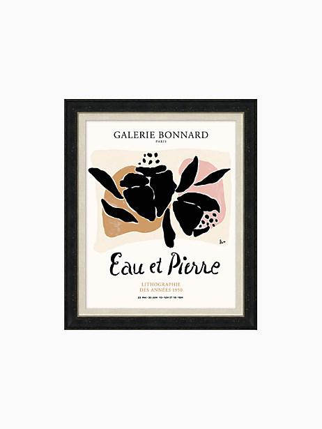 Eau Et Pierre Print