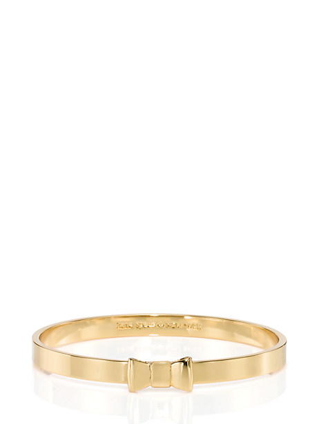 Kate Spade Take A Bow Bangle In Gold