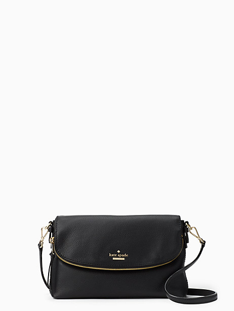 Jackson Street - Colette Leather Satchel - Black