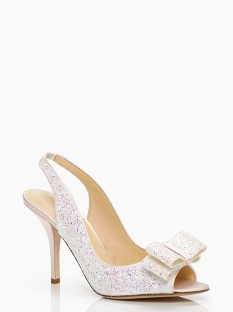 Wedding wednesday kate spade wedding shoes shop girl daily kate spade charm heel junglespirit Images