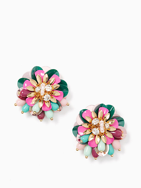 Kate Spade  VIBRANT LIFE STATEMENT STUDS