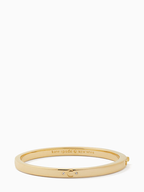 Kate Spade  ONE IN A MILLION INITIAL BANGLE