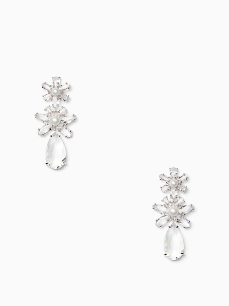 Kate Spade  FLORA TRIPLE DROP EARRINGS