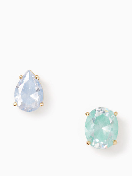 Kate Spade  FLYING COLORS ASYMMETRICAL STUDS