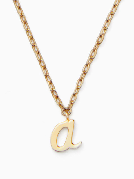 kate spade one in a million initial pendant