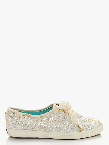 KATE SPADE KEDS X KATE SPADE NEW YORK GLITTER SNEAKERS