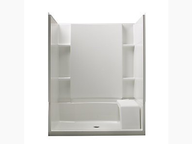 Accord Series 7229 60 X 36 74 1 2 Seated Shower Stall With Aging In Place Backerboards 72290106 0