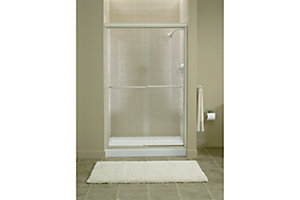 "Finesse™ Sliding Shower Door with Quick Install™ Mounting System - Height 70-5/16"", Max. Opening 45-1/2"""