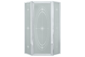 Intrigue™ Neo-angle Shower Door