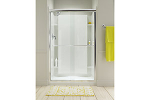 "Finesse™ Sliding Shower Door with Quick Install™ Technology - Height 70-5/16"", Max. Opening 57-1/2"""