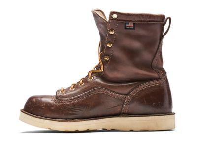recrafted boot with conditioned leather and new outsole