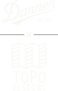 danner x topo logo