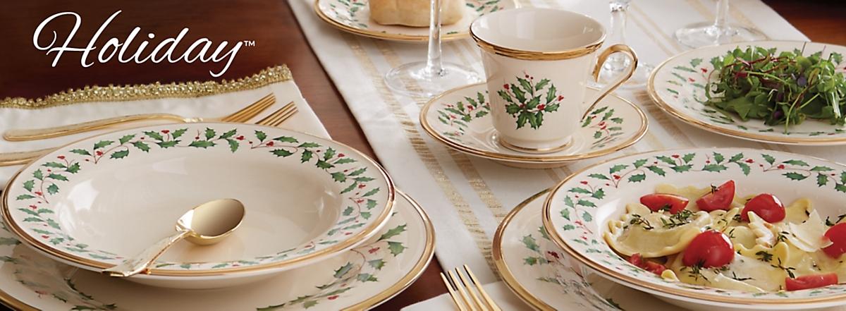 & Decorative Holiday Dinnerware Sets | Lenox | www.lenox.com