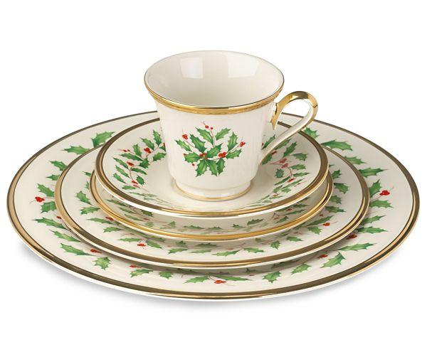holiday dinnerware - Lenox Dinnerware