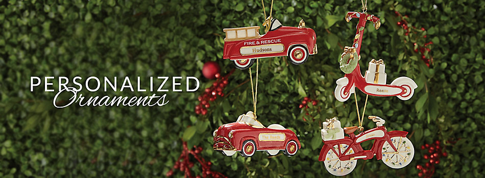 ornaments personalized lenox - Lenox Christmas Decorations