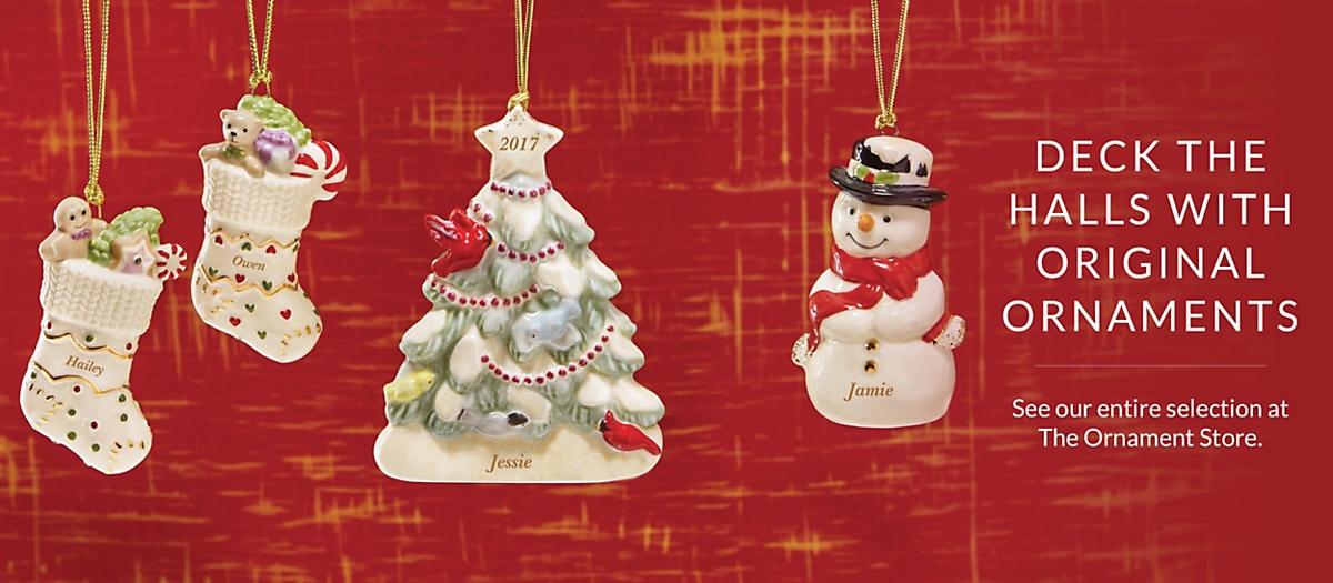 Christmas Ornaments  Lenox