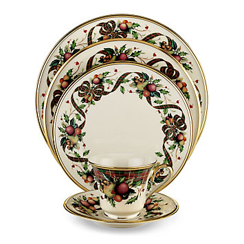 Holiday Tartan  sc 1 st  Lenox & Decorative Holiday Dinnerware Sets | Lenox | www.lenox.com