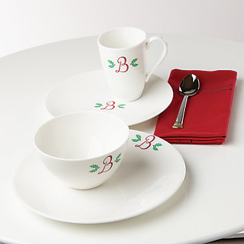 Exceptionnel Personalized Dinnerware