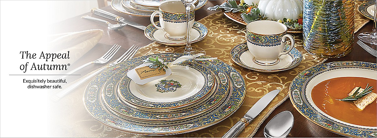 Previous Next & Autumn Dinnerware